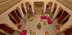 Riad Fes Interior View