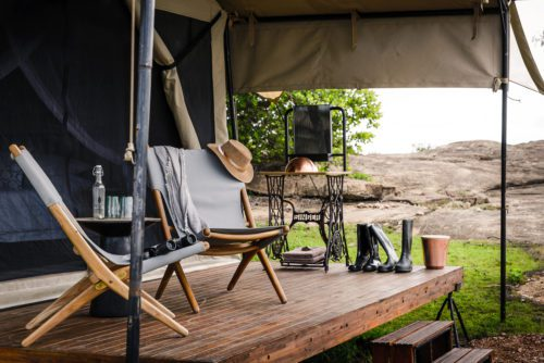 Finding the right safari tented camp means weighing options like verandah's and showers