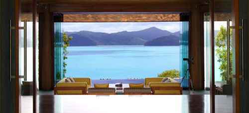 View from the window at Qualia