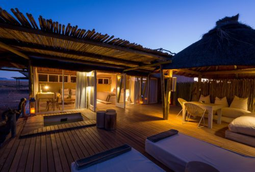 indoor outdoor living on our Namibia safari